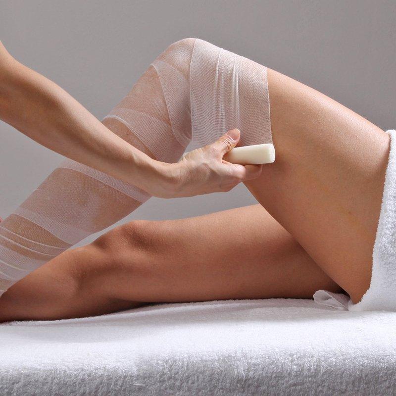 Eliminare la ritenzione idrica con il bendaggio medico