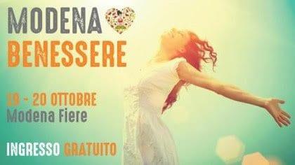 Star bene in modo naturale: a Modena Benessere Festival