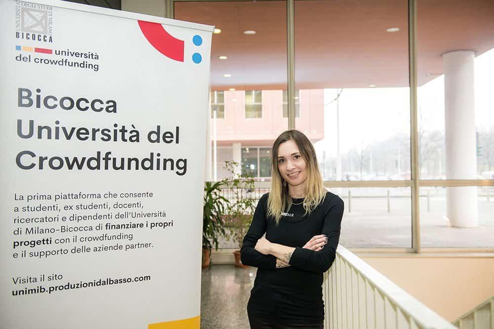 Federica Pallavicini, assegnista di ricerca del dipartimento di Scienze umane per la Formazione