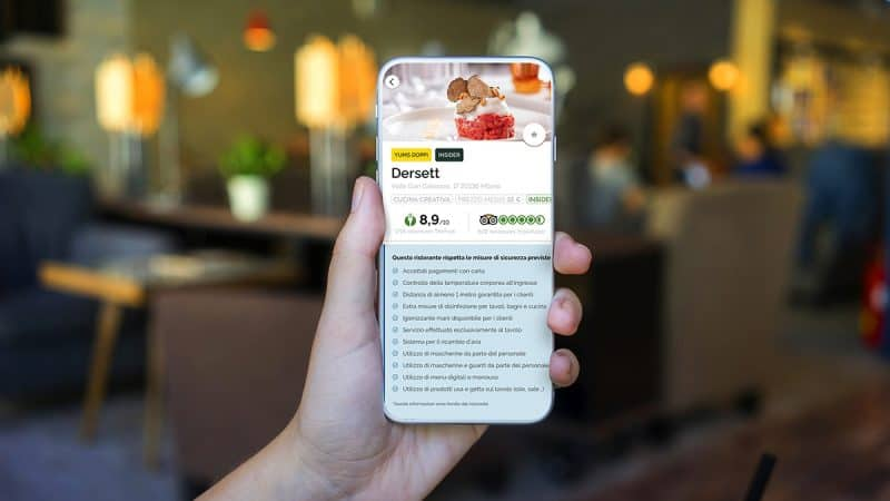 Su TheFork una nuova funzionalità per aggiornare gli utenti sulle norme anti-COVID nei ristoranti