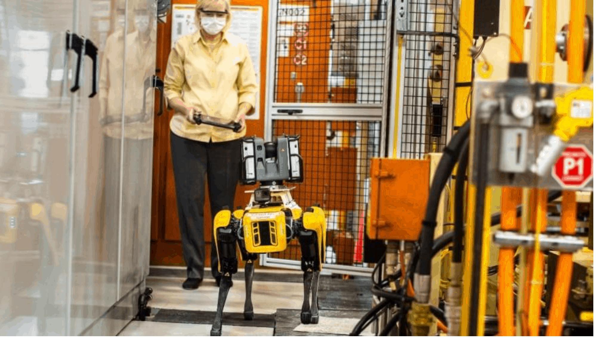 Ford sperimenta l'utilizzo di robot a quattro zampe
