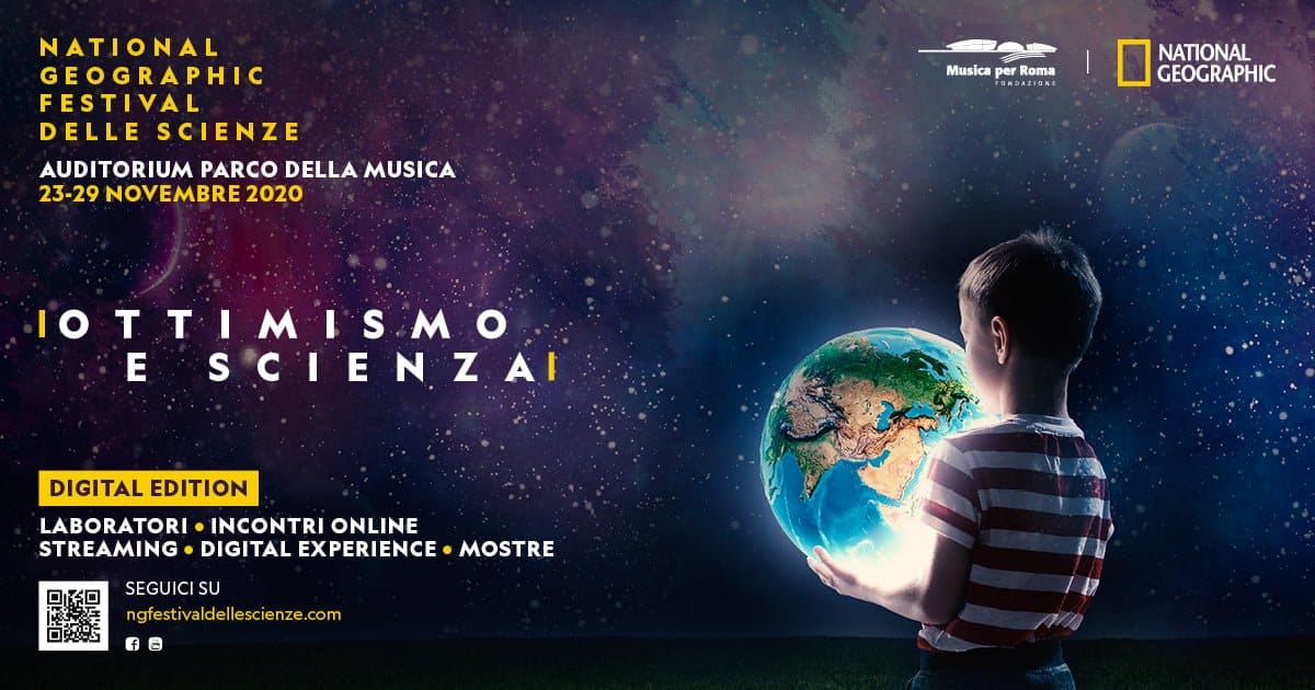 Parte in versione on-line il National Geographic Festival delle Scienze